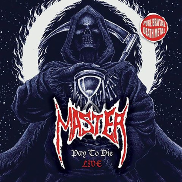 Master Pay to Die Live album cover artwork