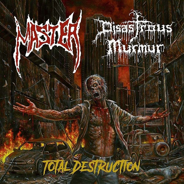 Master Total Destruction album cover artwork