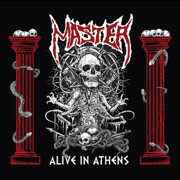 Master Alive In Athens album cover artwork