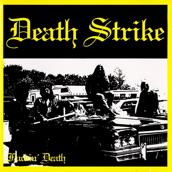 Death Strike Fuckin' Death album cover artwork