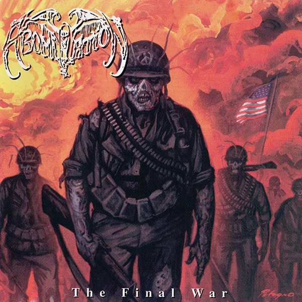 Abomination The Final War album cover artwork