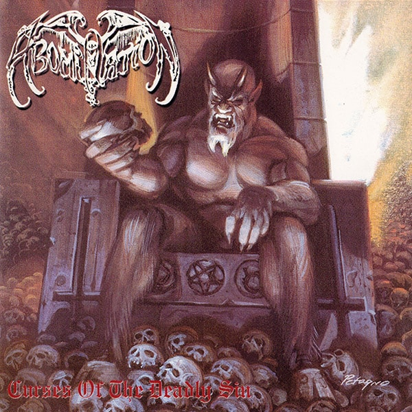 Abomination Curses of the Deadly Sin album cover artwork