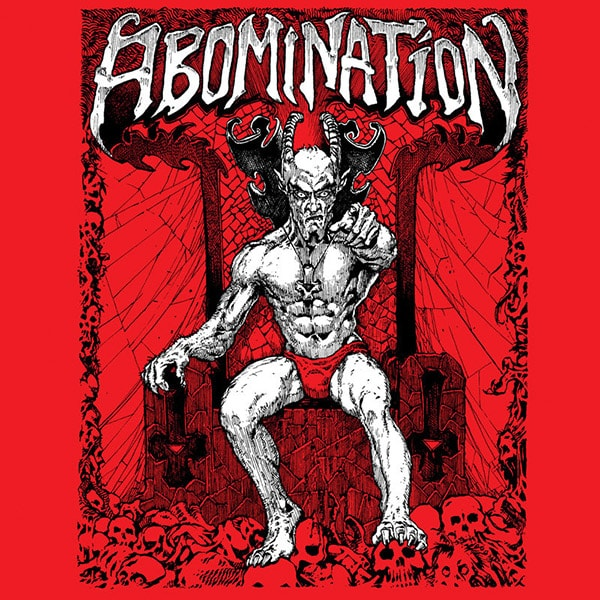 Abomination Demos album cover artwork