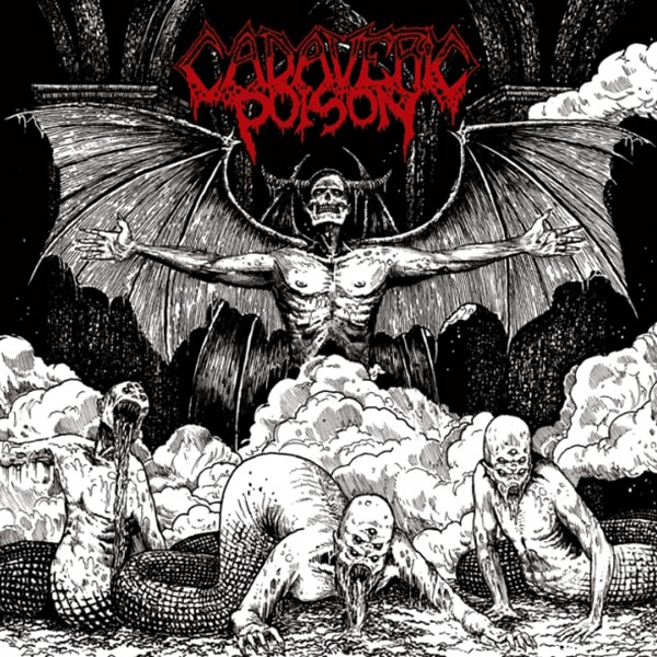 Cadaveric Poison Fight For Evil album cover artwork