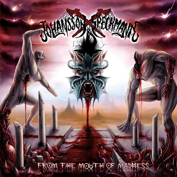 Johansson & Speckmann From the Mouth of Madness album cover artwork