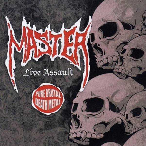 Master Live Assault album cover artwork